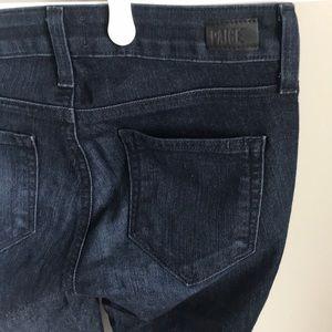 👖Paige Dark Wash Bootcut Denim Jeans